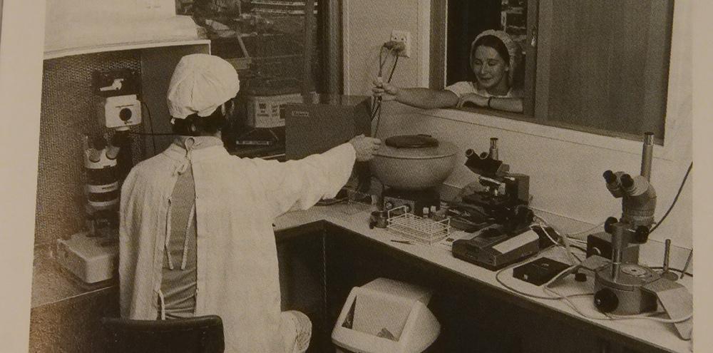 Medial scientists circa 1976