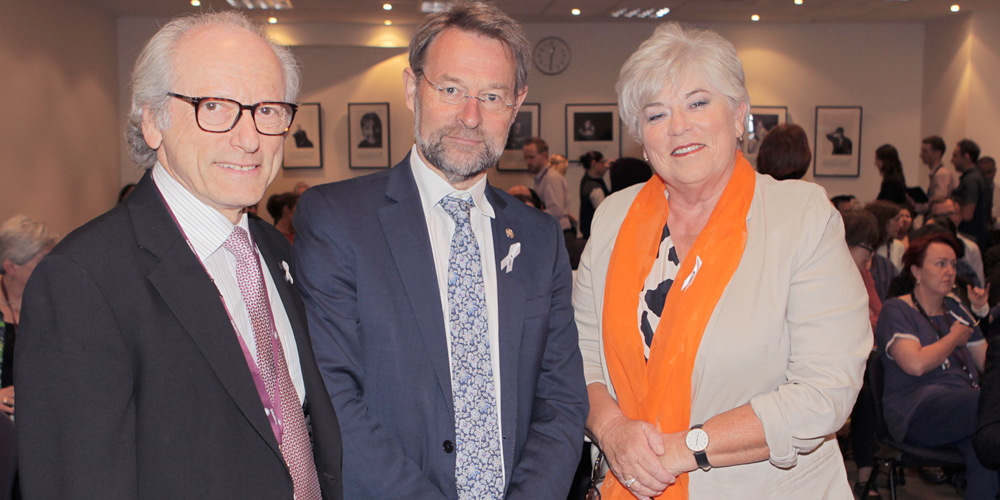 A/Prof Leslie Reti, Prof David Watters, Lyn Swinburne AM