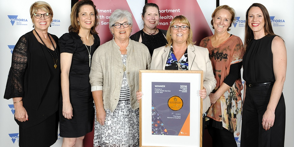 The Women's has been named the Premier's Large Health Service of the Year at the Victorian Public Healthcare Awards.