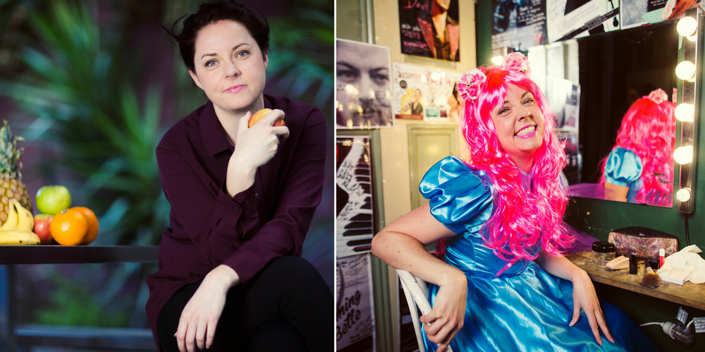 Dietician, singer and children's pantomime performer Shannon McDonough features in our photographic exhibition 'The women behind the Women's