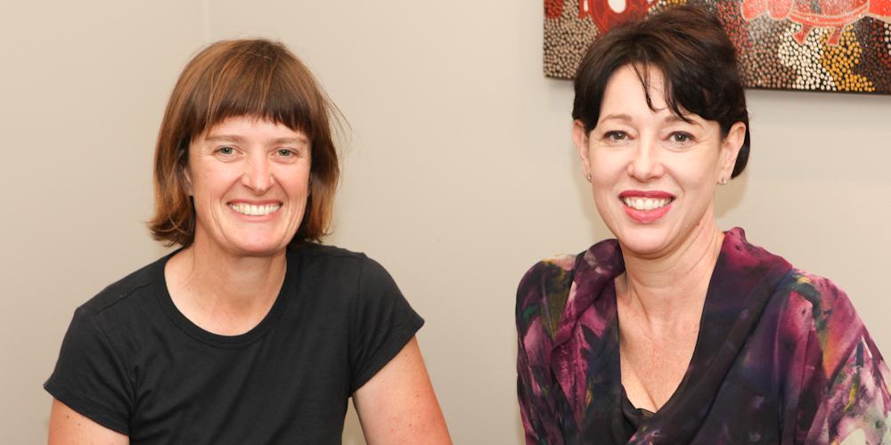 Jennifer Hocking and Tanya Farrell