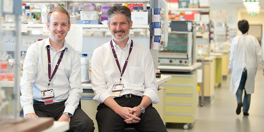 Dr Brett Manley and Prof Peter Davis