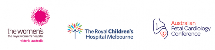 RWH, RCH Logos: and First Australian Fetal Cardiology Conference