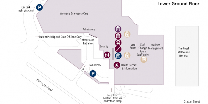 lower ground floor map