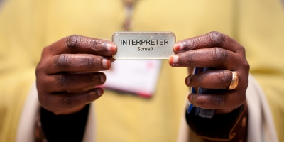 Interpreters available