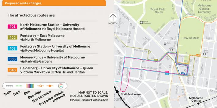 proposed bus route changes