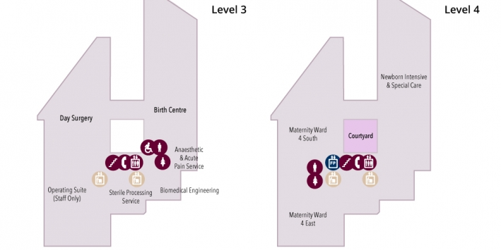 levels 3 and 4 maps