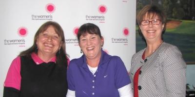 Julie Daniel, Tracey Clouston and Sue Morisset