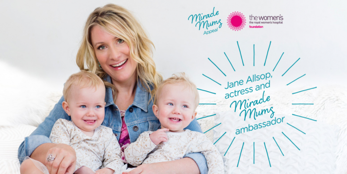 Jane Allsop and twins