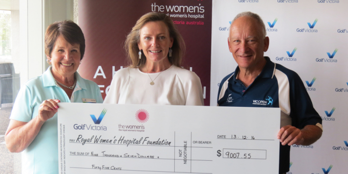 A decade of support from Golf Victoria